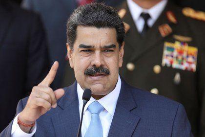 Nicolás Maduro en una rueda de prensa en Caracas (REUTERS/Manaure Quintero/Archivo)